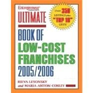 Ultimate Book of Low-Cost Franchises 2005 by LESONSKY, 9781932531398