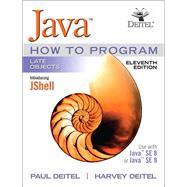 Java How To Program, Late Objects by Deitel, Paul J.; Deitel, Harvey, 9780134791401