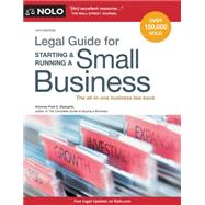 Legal Guide for Starting & Running a Small Business by Steingold, Fred S., 9781413321401