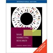 AISE Pkg Basic Marketing Research W/Qualtrics Basic Mrtk Res by Churchill/Brown/Suter, 9781439041406