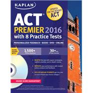 Kaplan Act Premier 2016 + Online by Kaplan, 9781625231406
