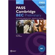 Pass Cambridge Bec Preliminary Practice Tests With CD Audio by Pile/Williams, 9781902741406