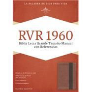 RVR 1960 Biblia Letra Grande Tamaño Manual con Referencias, cobre/marrón profundo símil piel by Unknown, 9781433691409