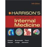 HARRISON'S Principles of Internal Medicine, Vol. 1 by Kasper, Dennis L., 9780071391412
