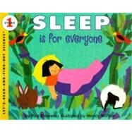 Sleep Is for Everyone by Showers, Paul, 9780064451413