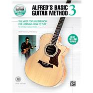 Alfred's Basic Guitar Method 3: The Most Popular Method for Learning How to Play by Manus, Morty; Manus, Ron, 9781470631413