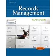 Records Management by Read, Judith; Ginn, Mary Lea, 9780538731416
