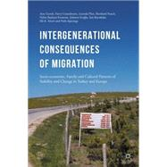 Intergenerational consequences of migration Socio-economic, Family and Cultural Patterns of Stability and Change in Turkey and Europe by Guveli, Ayse; Ganzeboom, Harry; Platt, Lucinda; Nauck, Bernhard; Baykara-Krumme, Helen; Eroglu, Sebnem; Bayrakdar, Sait; Sözeri, Efe K.; Spierings, Niels, 9781137501417