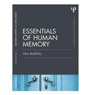 Essentials of Human Memory (Classic Edition) by Baddeley; Alan, 9781848721418