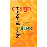 Designer Essential Index by Krause, Jim, 9781600611421