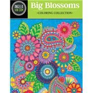 Hello Angel Big Beautiful Blossoms Coloring Collection by Van Dam, Angelea, 9781497201422