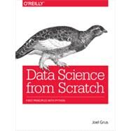 Data Science from Scratch by Grus, Joel, 9781491901427