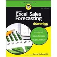 Excel Sales Forecasting for Dummies by Alexander, Mike, 9781119291428