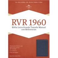 RVR 1960 Biblia Letra Grande Tamaño Manual con Referencias, azul zafiro, imitación piel by Unknown, 9781433691430