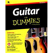 Guitar for Dummies by Phillips, Mark; Chappell, Jon, 9781119151432