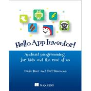 Hello App Inventor! by Beer, Paula; Simmons, Carl, 9781617291432