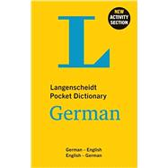 Langenscheidt Pocket Dictionary German by Langenscheidt, 9783468981432