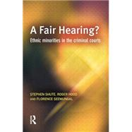 A Fair Hearing? by Shute,Stephen, 9781138861442