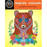 Hello Angel Majestic Animals Coloring Collection by Van Dam, Angelea, 9781497201446
