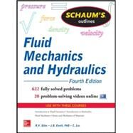 Schaum's Outline of Fluid Mechanics and Hydraulics, 4th Edition by Liu, Cheng; Ranald, Giles; Evett, Jack, 9780071831451