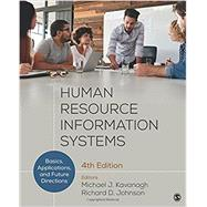 Human Resource Information Systems by Kavanagh, Michael J.; Johnson, Richard D., 9781506351452