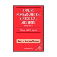 Applied Nonparametric Statistical Methods, Third Edition by Sprent; Peter, 9781584881452
