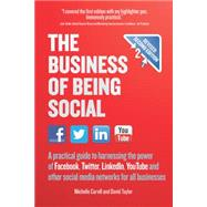 The Business of Being Social by Carvill, Michelle; Taylor, David, 9781780591452