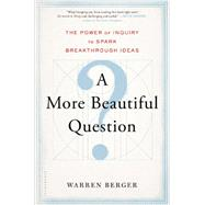 A More Beautiful Question The Power of Inquiry to Spark Breakthrough Ideas by Berger, Warren, 9781620401453