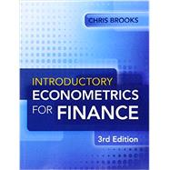 Introductory Econometrics for Finance by Brooks, Chris, 9781107661455