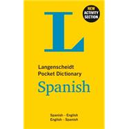 Langenscheidt Pocket Dictionary Spanish by Langenscheidt, 9783468981456