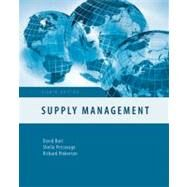 Supply Management (Irwin Operations/Decision Sciences) by Burt, David; Petcavage, Sheila; Pinkerton, Richard, 9780073381459