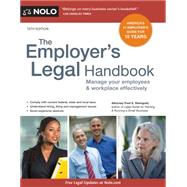 The Employer's Legal Handbook by Steingold, Fred S., 9781413321463