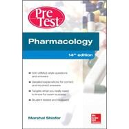 Pharmacology PreTest Self-Assessment and Review 14/E by Shlafer, Marshal, 9780071791465