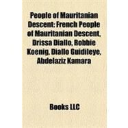 People of Mauritanian Descent by , 9781158731466