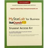 MyStatLab with eText for Business Statistics -- Standalone Access Card by Pearson Education, 9780321921468