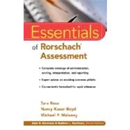 Essentials of Rorschach Assessment by Rose, Tara; Maloney, Michael P.; Kaser-Boyd, Nancy, 9780471331469