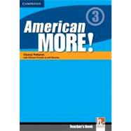 American More! Level 3 Teacher's Book by Julie Penn , With Herbert Puchta , Jeff Stranks , Günter Gerngross , Christian Holzmann , Peter Lewis-Jones, 9780521171472