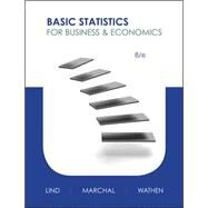 Basic Statistics for Business and Economics by Lind, Douglas; Marchal, William; Wathen, Samuel, 9780073521473