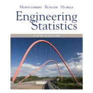Engineering Statistics, 5th Edition by Douglas C. Montgomery (Georgia Institute of Technology); George C. Runger (Rensselaer Polytechnic Institute); Norma F. Hubele (Arizona State University  ), 9780470631478