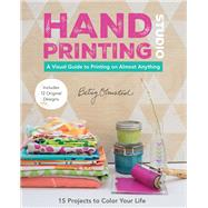 Hand-printing Studio by Olmsted, Betsy, 9781617451478