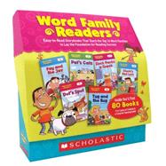Word Family Readers Set Easy-to-Read Storybooks That Teach the Top 16 Word Families to Lay the Foundation for Reading Success by Charlesworth, Liza, 9780545231480