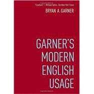Garner's Modern English Usage by Garner, Bryan, 9780190491482