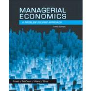 Managerial Economics by Froeb, Luke M.; McCann, Brian T.; Ward, Michael R.; Shor, Mike, 9781133951483