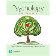 Psychology Core Concepts, Books a la Carte by Zimbardo, Philip G.; Johnson, Robert; McCann, Vivian, 9780134191485