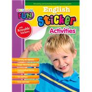 Preschool Fun - English Sticker Activities by Popular Book Company, 9781771491488