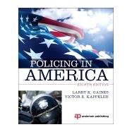 Policing in America by Gaines; Larry, 9780323311489