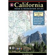 Benchmark California Road & Recreation Atlas by Benchmark Maps, 9780929591490