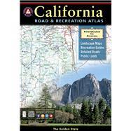 Benchmark California Road & Recreation Atlas by Benchmark Maps, 9780929591490