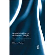 Nature in the History of Economic Thought: How Natural Resources Became an Economic Concept by Wolloch; Nathaniel, 9781138691490