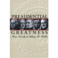 Presidential Greatness by Landy, Marc; Milkis, Sidney M., 9780700611492